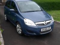 Vauxhall/Opel Zafira 1.6i 16v 2008MY Life 7 SEATS
