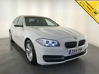 2014 BMW 518D SE DIESEL SALOON 1 OWNER SERVICE HISTORY LEATHER INTERIOR SAT NAV