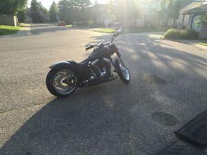 Harley Davidson Fatboy Lo Soft Tail Custom Pro Street
