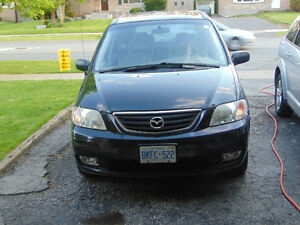 2002 Mazda MPV ES Minivan, Van