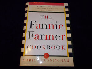 The Fannie Farmer Cookbook: 100th Anniversary Ed, 896 pages!