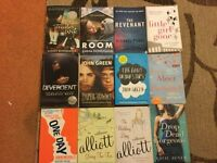 Book Selection including The Revenant, The Fault in our stars and Divergent