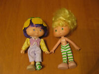 STRAWBERRY SHORTCAKE VINTAGE 80'S DOLLS