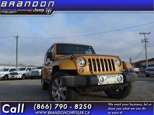 2014 Jeep Wrangler Unlimited Sahara-Cloth Seats,Heated Front Sea