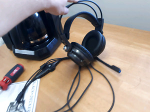PS4 deluxe over ear headset with lights