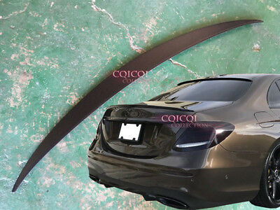 Unpainted M-BENZ 2017~2018 W213 E class Sedan OEM type trunk spoiler E200E300@US