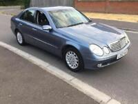 2002 MERCEDES BENZ E CLASS E220 CDI Elegance 4dr Tip Auto 2.2 NEW SHAPE 6MAIN