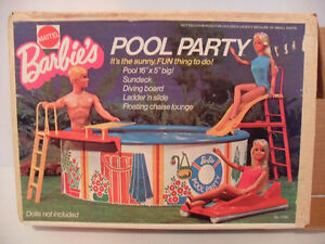 Barbie Pool Playset from 1973