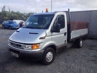 FORD IVECO TIPPER + TAIL LIFT
