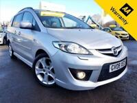2008 MAZDA 5 2.0 SPORT D 143 BHP! P/X WELCOME! XENON! FULL LEATHER! ELEC DOORS!