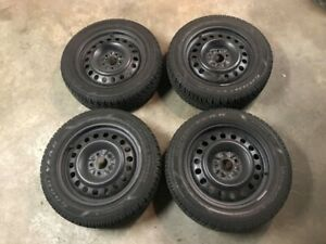 4 set of snow tires on rims