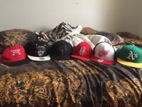 Snapbacks/fitted