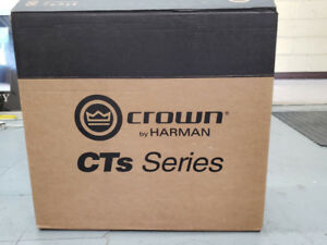 Crown Audio CTs-600 - Two-Channel Power Amplifier - New
