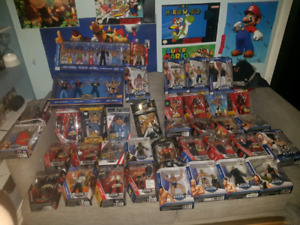 WWE ACTION FIGURES AND MORE!!