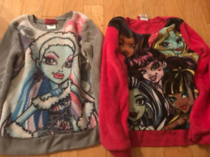 soft monster high sweaters