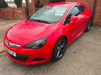"2012 12 Vauxhall Astra GTC 2.0 CDTI SRI ( 165ps ) ( s/s ) Leather 19"" hurricanes"