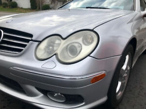 2005 Mercedes-Benz CLK500 Coupe 5.0L V8 Automatic
