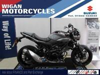 DEMONSTRATOR SV650X - IMMACULATE LOW MILEAGE BIKE