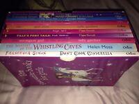 Books moody Margaret, Horid Henry Smallest girl ever, Tilly Pony strongest girl in the world,