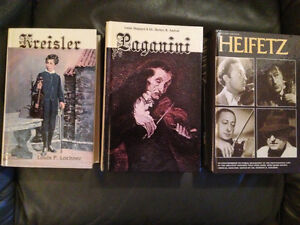 Famous Violinists collection