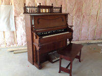 Piano Refinishing - Dwight Mallory