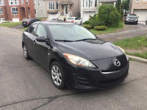 2010 Mazda 3 GX ** Aucune Rouille ** Groupe Elect ** Financement