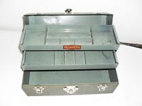 Metal tacklebox or cash box