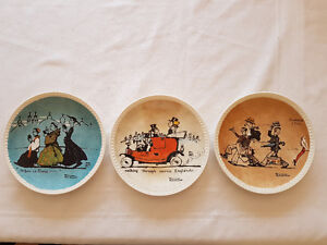 3 Norman Rockwell Plates