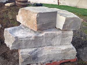 Armourstone, various sizes and colors in Barrie. Granite pavers!