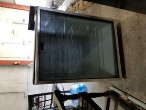 Kitchen aid stainless steel wine fridge