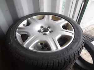 Replica Bentley Mags 5x112 19 with Winter Tire
