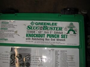 emporte piece  knockout punch greenlee no: 737/737bb