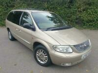 CHRYSLER GRAND VOYAGER LTD 3.3 AUTOMATIC PETROL 7 SEATER 2002