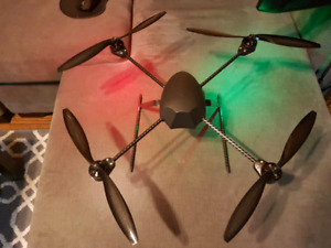 Draganflyer x4 drone setup for Trade
