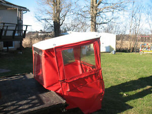 Cab and Snowblower for Lawn tractor