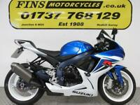 Suzuki GSXR 600 L2, Excellent, Low mileage, FSH 2012