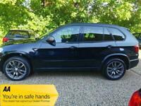 2012 BMW X5 3.0 M50d Auto 4WD (s/s) 5dr +3Cam +Powerful Machine +Rare Car