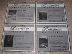 4 Relaxation cds in very good condition-$5 for the lot