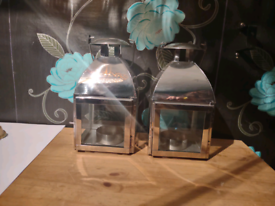 Two square lanterns for sale