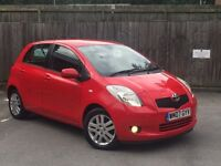 2007 Toyota Yaris 1.3 TR, 68K, FSH, Parking Sensors, Bluetooth Phone Kit