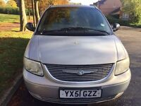 Chrysler voyager 2.4 7 seater DVD player 1 year MOT
