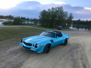1981 Camaro Z28 - T Top - 355sbc - 700r4 - NEW EVERYTHING