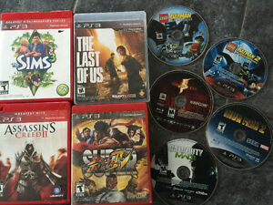 9 Assorted PS3 games