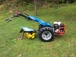 BCS 853 Walking Tractor, Attachments and Accessories