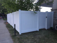 VINYL PVC FENCE IS SPRINGING INTO SUMMER SALE ON NOW