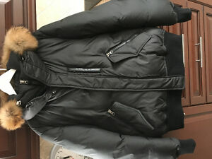 Mackage Florian Black Winter Jacket - NEW