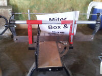 Miterbox & Saw for Sale