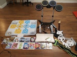 Nintendo wii , game and accesories