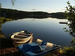 Chalet à louer près d'un lac