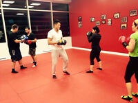 Muay Thai at MBS, located in the Montreal area.